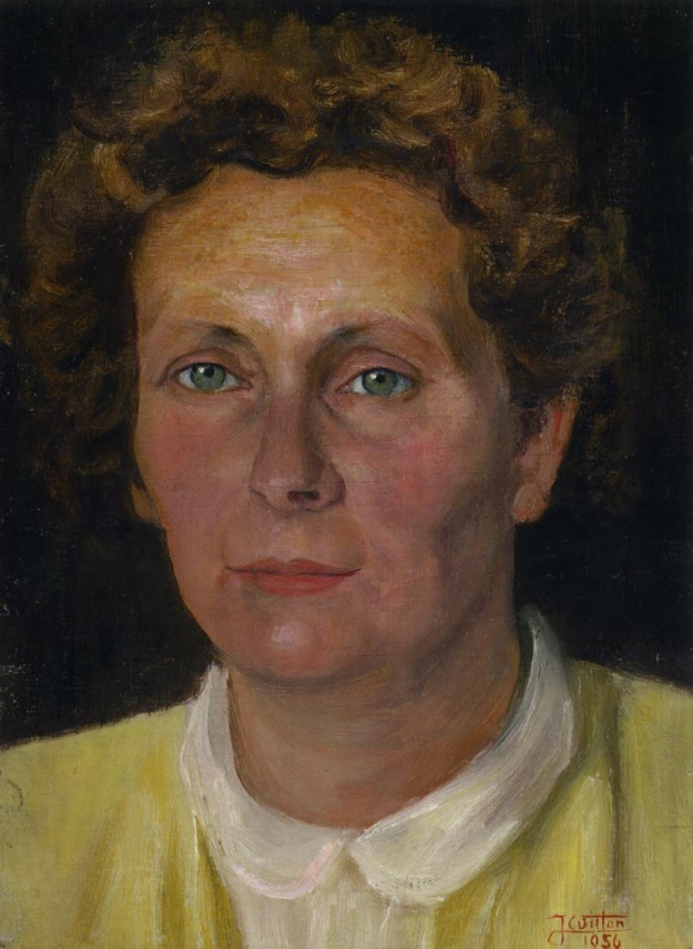 Portrait of Urszula Muskus 1956
