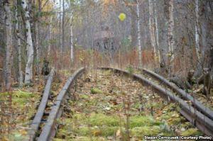Abandoned rails.