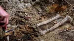bones in Katyn