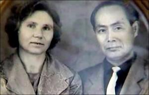 Klavdia Novikova and Yasaburo Hachiya