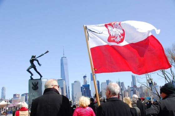 Katyn monument Jersey City